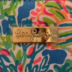 Lilly Pulitzer Other - Lilly Pulitzer Green Tiki Palm Wristlet.